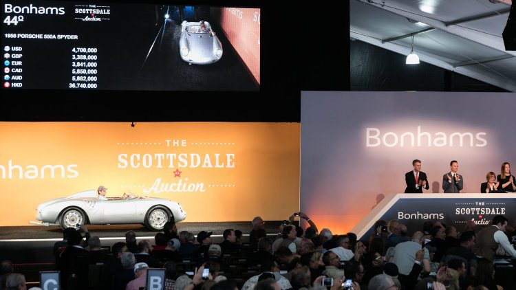 Bonhams Scottsdale Classic Car Sale Auction Results Top - Scottsdale classic car show