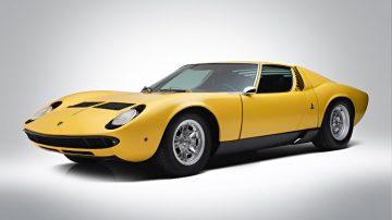 1968 Lamborghini Miura P400 S Coupé (estimate €1,200,000-1,400,000)