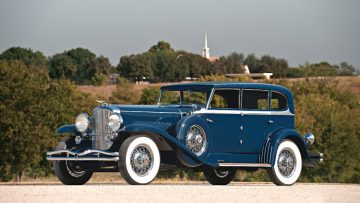 1929 Duesenberg Model J 'Clear-Vision' Sedan by Murphy, engine J-187, estimate $750,000 - $1,000,000