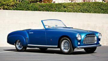 1952 Ferrari 212 Europa Cabriolet (Estimate: $1,800,000-$2,200,000)