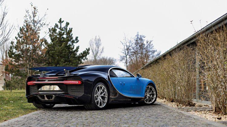 2017 Bugatti Chiron rear