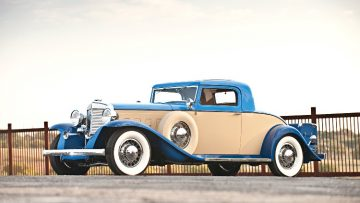1931 Marmon Sixteen Coupe by LeBaron