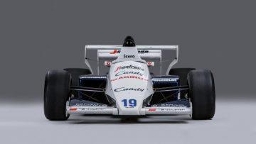 Senna's 1984 Toleman-Hart TG184