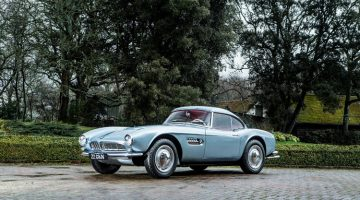 2018 Bonhams Goodwood Festival of Speed (John Surtees' BMW 507 Announcement)