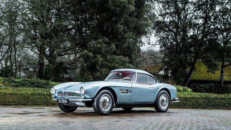 2018 bonhams goodwood festival of speed john surtees 39 bmw 507 announcement top classic car. Black Bedroom Furniture Sets. Home Design Ideas