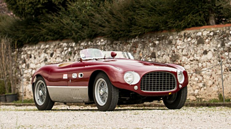 1953 Ferrari 625 Targa Florio