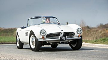 1957 BMW 507 Roadster of King Constantine