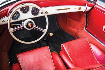 1956 Porsche 356 A 1600 S Speedster Interior