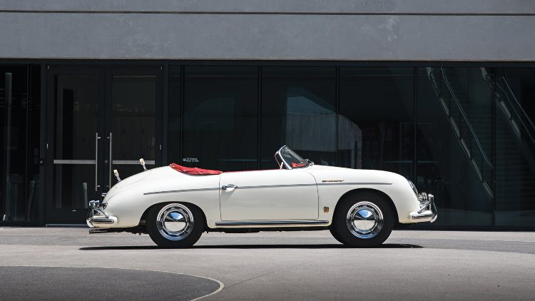 1956 Porsche 356 A 1600 S Speedster Profile