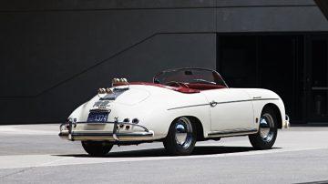1956 Porsche 356 A 1600 S Speedster Rear Quarter