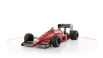 1987 Ferrari F1/87 Formula 1 Racing Single-Seater