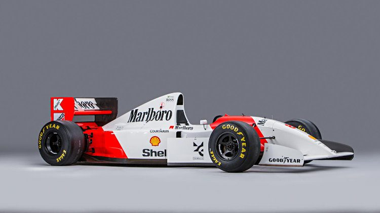 1993 McLaren-Cosworth Ford MP4