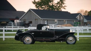 1927 Isotta Fraschini Tipo 8A S Roadster by Fleetwood