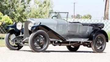 1928 Bentley 4 ½-Liter Open Tourer by Vanden Plas