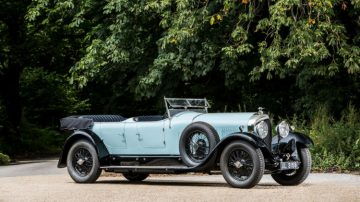 2018 Bonhams Quail Lodge Sale (1928 Bentleys Announcement)