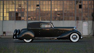 1934 Packard Twelve Individual Custom Convertible Victoria