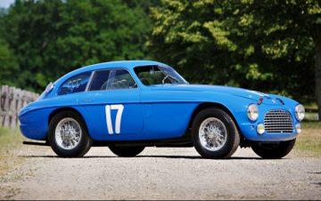 1950 Ferrari 166 MM/195 S Berlinetta Le Mans, chassis 0060 M, (Estimate: $6,500,000 – $7,500,000)