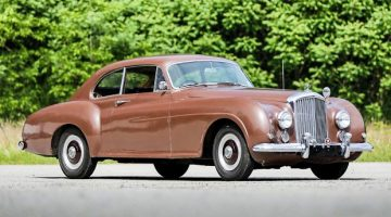 1952 Bentley R-Type Continental Fastback (Estimate: $1,500,000 – $2,000,000)
