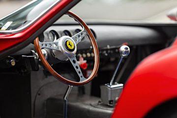 1962 Ferrari 250 GTO, chassis 3413 GT interior