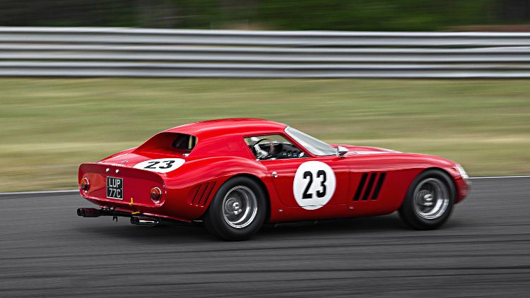 1962 Ferrari 250 GTO, chassis 3413 GT, in action