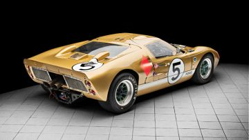 1966 Ford GT40 From Rear