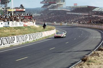 1966 Ford GT40 at Le Mans
