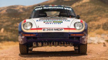1985 Porsche 959 Paris-Dakar Front