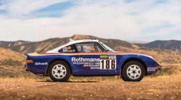 1985 Porsche 959 Paris Dakar Side Profile
