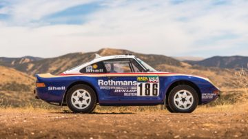 1985 Porsche 959 Paris Dakar Side Profile