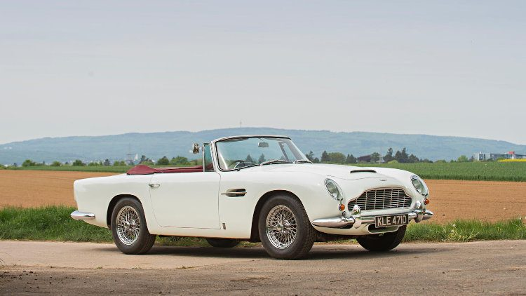 Bonham Aston Martin Sale Results Announcement Top Classic - Aston martin db5 1964 price