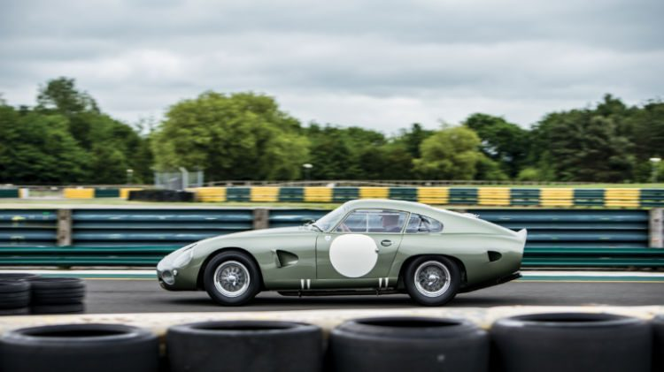 1963 Aston Martin DP215 Grand Touring Competition Prototype Profile