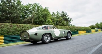 1963 Aston Martin DP215 Grand Touring Competition Prototype rear