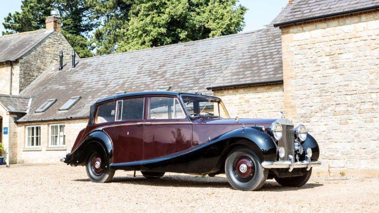 1950 Rolls-Royce Phantom IV State Landaulette with coachwork by Hooper & Co