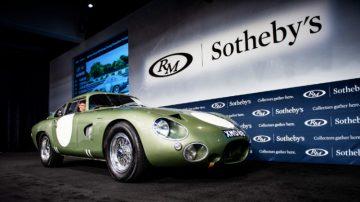 1963 Aston Martin DP215 at Monterey 2018 Auction