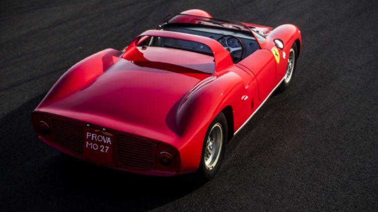 1963 Ferrari 275 P Rear
