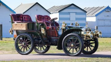 1903 Darracq 24hp Model JJ Rear-entrance Tonneau