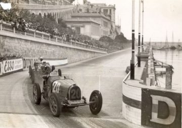 1931 Bugatti Type 51 at Monaco