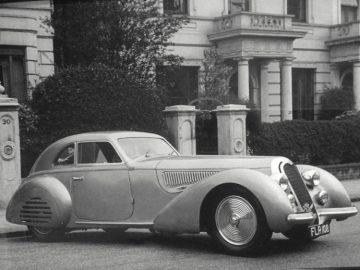 1939 Alfa Romeo 8C 2900B Touring Berlinetta in 1949