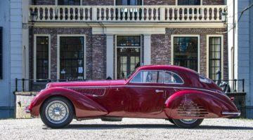 2019 Artcurial Paris Rétromobile Sale (Alfa Romeo 8C 2900B Announcement)