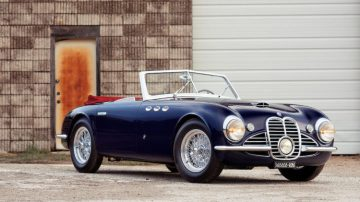 1952 Maserati A6G 2000 Spider Chassis 2017