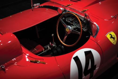 1956 Ferrari 290 MM Cockpit