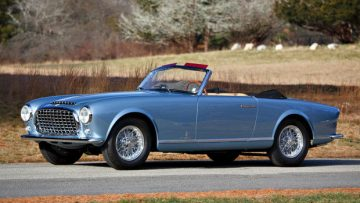 1952 Ferrari 212 Europa Cabriolet (Estimate: $1,900,000 – $2,200,000)