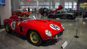 1956 Ferrari 290 MM at Petersen Automotive Museum