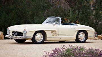 1957 Mercedes-Benz 300 SL Roadster (Estimate: $900,000 – $1,200,000)