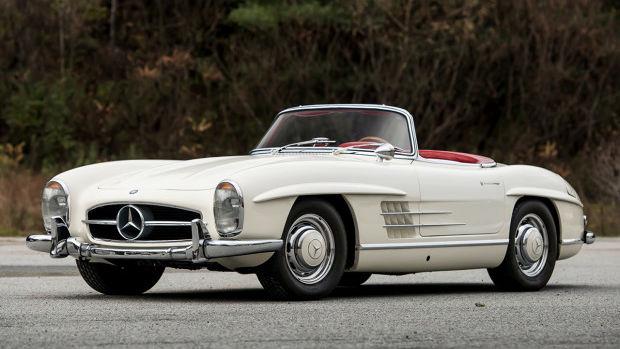1963 Mercedes-Benz 300 SL Roadster (Estimate: $1,750,000 – $2,250,000)
