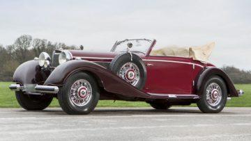 1939 Mercedes-Benz 540 K Cabriolet A Front Quarter