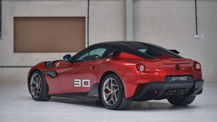 2011 Ferrari SP30 Rear