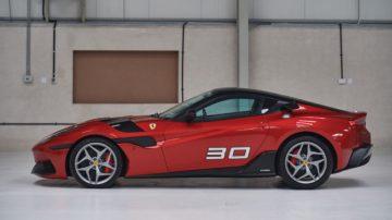 2011 Ferrari SP30 Profile
