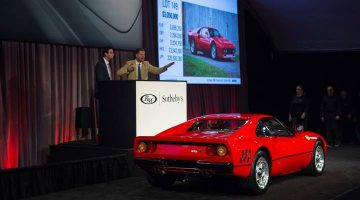 A 1985 Ferrari 288 GTO sold for $3,360,000 as the top result at the RM Sotheby's Arizona 2019 sale